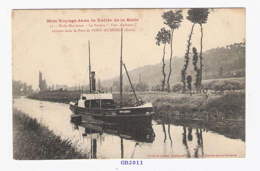 Cartes postales de haute normandie for Buro 27 pont audemer